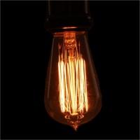 Lâmpada Filamento Carbono